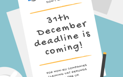December Deadline – Prepare yourself