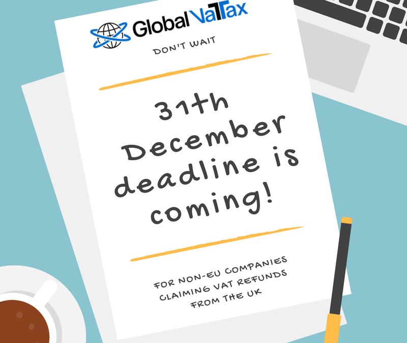 December Deadline – Prepare yourself